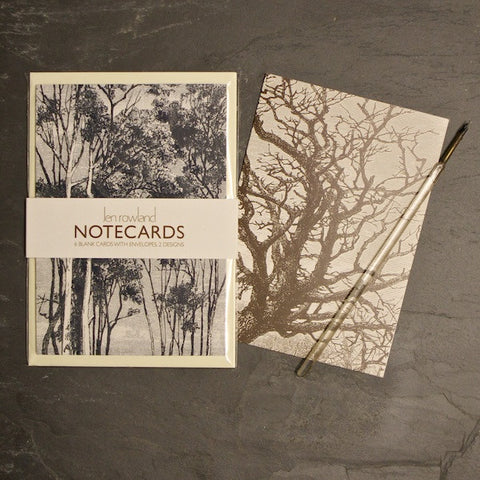 Set of 6 Notecards - Woods