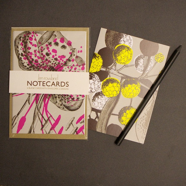 Set of 6 Notecards - Spotted Lily & Acacia