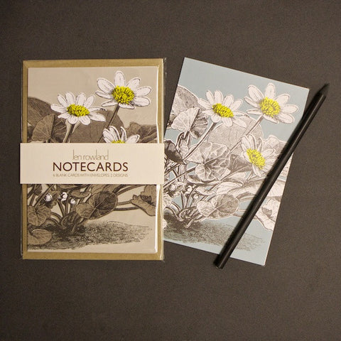 Set of 6 Notecards - Buttercup