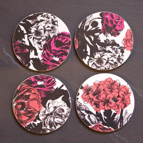 *NEW* Set of 4 'Bloom' coasters