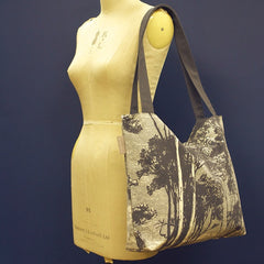 Woods Tote Bag - French Grey