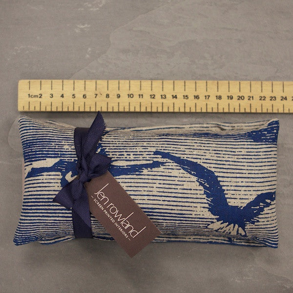 Heatable Wheat & Lavender Bag - Ink Sea