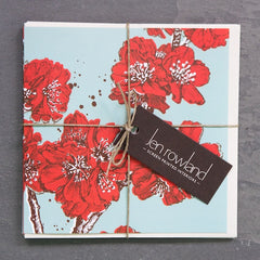 SALE - 3 Mixed Greetings Cards - Scarlet and Ink