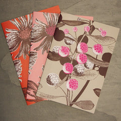 SALE A5 Notebook Set - Pink & Red