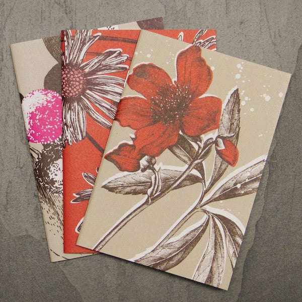SALE A6 Notebook Set - Reds & Pinks