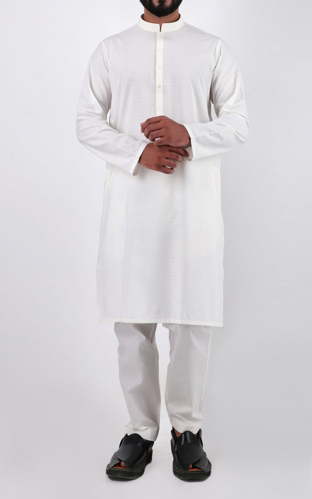 Trendy Kurta - WHITE