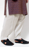 Men's Shalwar - Off White