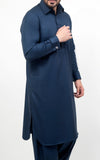 Premium S-Suit with French Cuff  - Navy