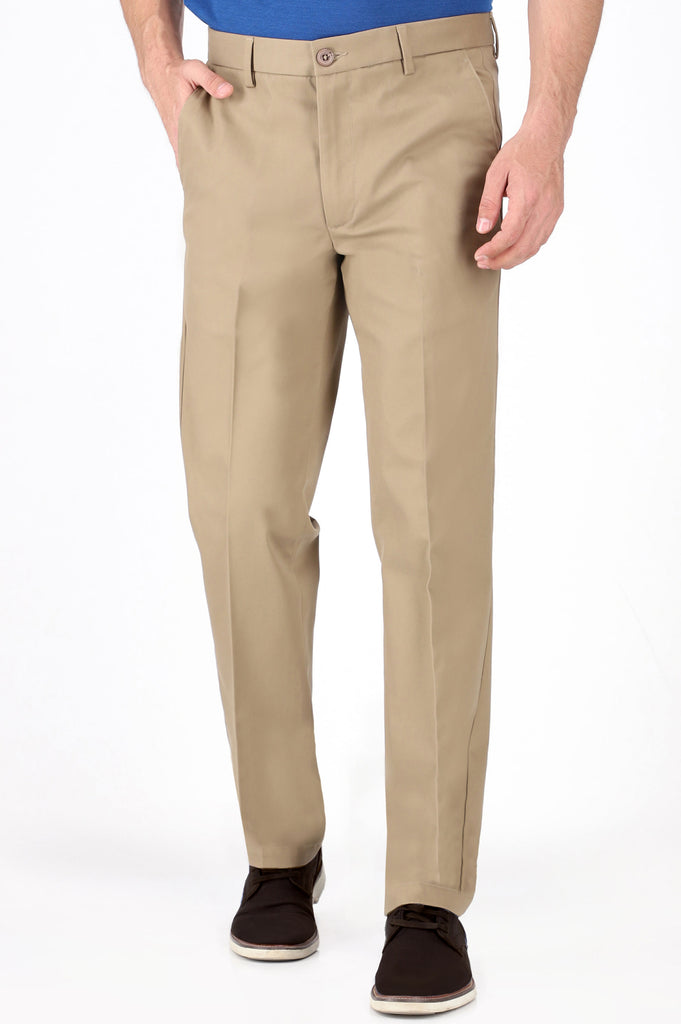 F/FRONT CREASE FREE (RE-DEFINE KHAKIS)