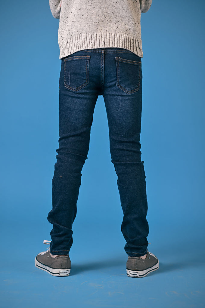 GUTS COLOR DENIM- DARK BLUE