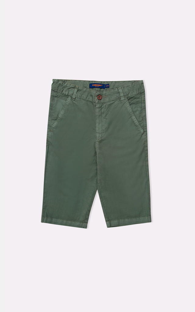 GUTS PLAIN SHORT- D/OLIVE