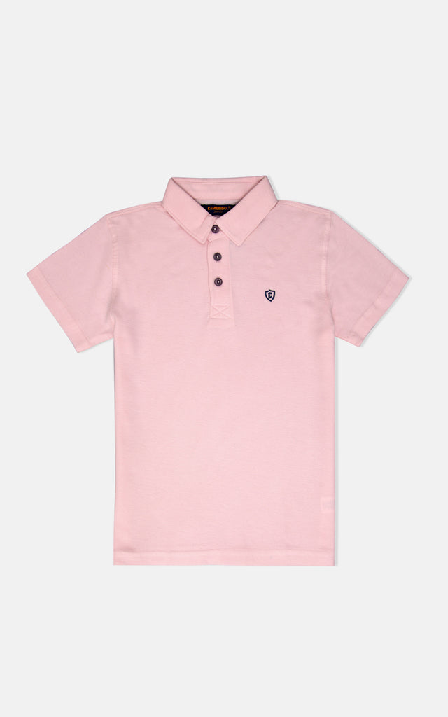 H/S GUTS PLAIN POLO - ROSE SHADOW