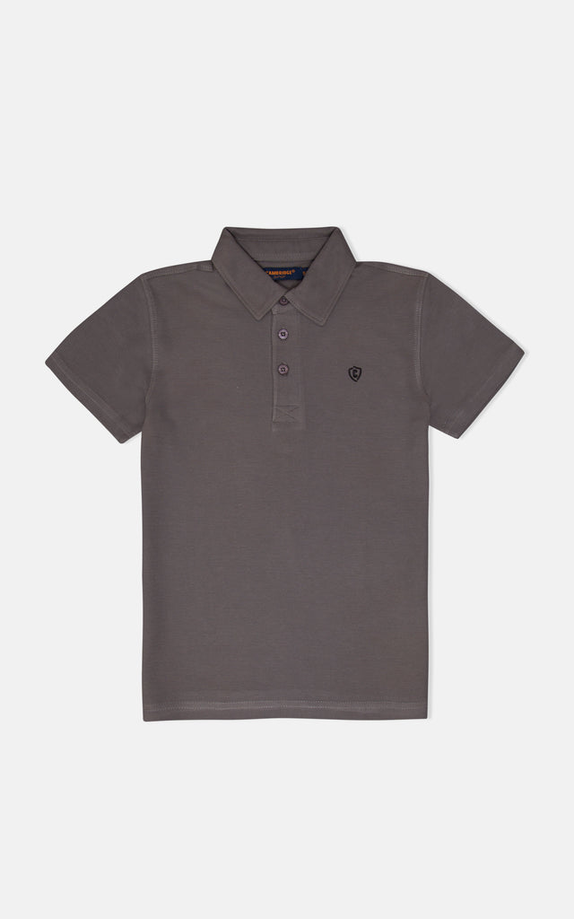 H/S GUTS PLAIN POLO - SMOKED PEARL