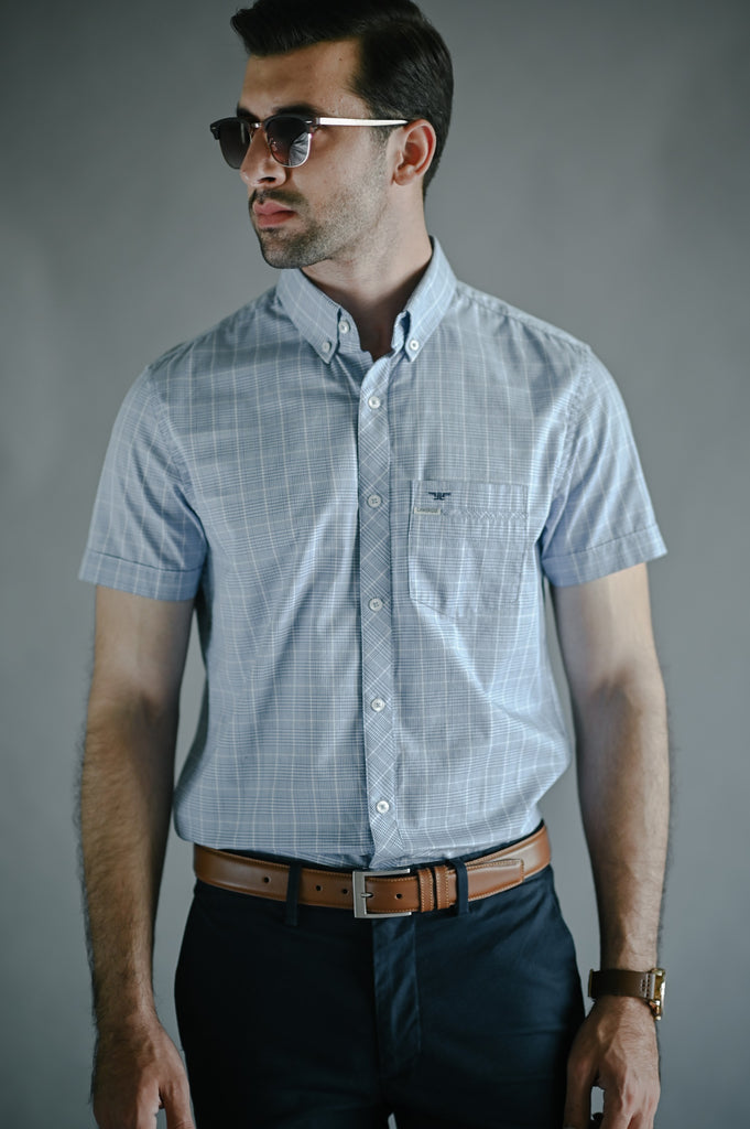 HALF SLEEVES LICENSE SHIRT