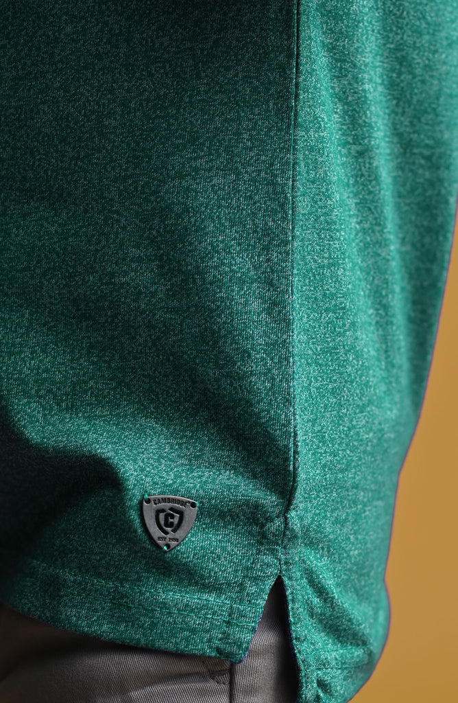 H/S Guts Crew Neck- Light Green