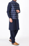Basic Waist Coat - Blue