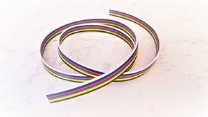 6 Pin 18 AWG Flat Wire