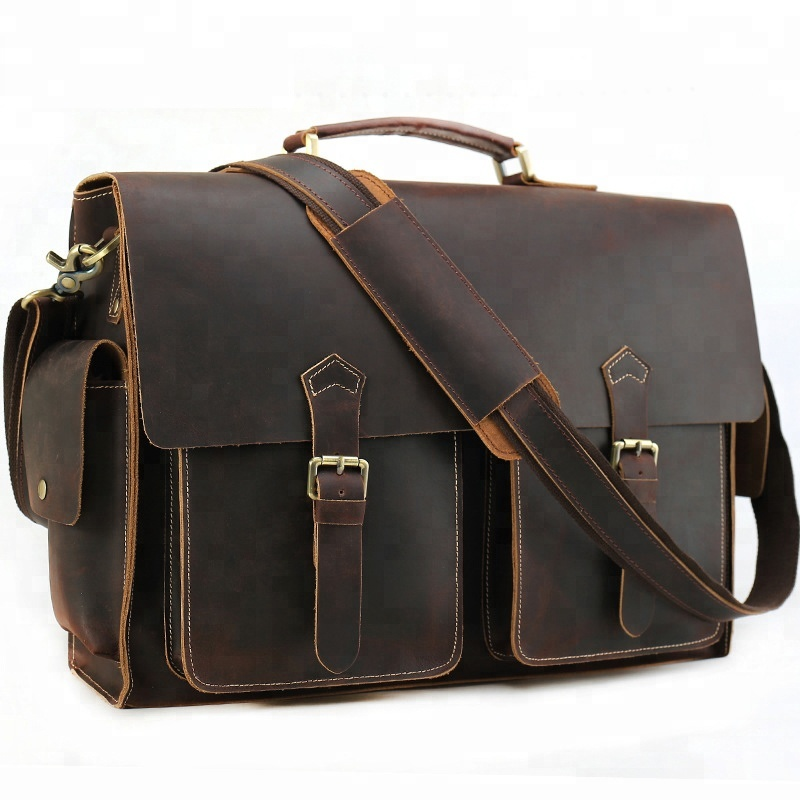 Vintage Leather Briefcase