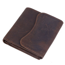 Load image into Gallery viewer, Dark-Brown-Leather-Case-For-Men