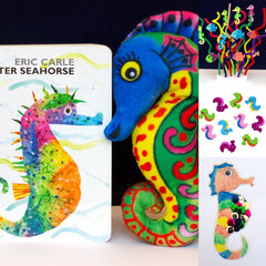 Mister Seahorse themed kids activities STEM