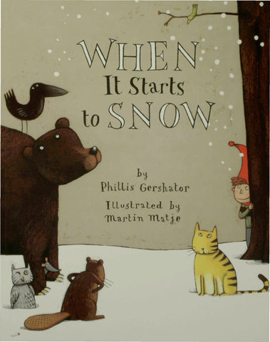 STEAM Activities inspired by the book  When it Starts to Snow