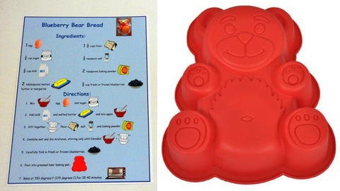 Bear mold - Blueberries For Sal by Robert McCloskey - Ivy Kids subscription box activities.