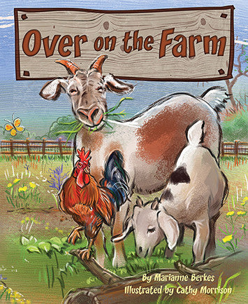 Over on the Farm children's book