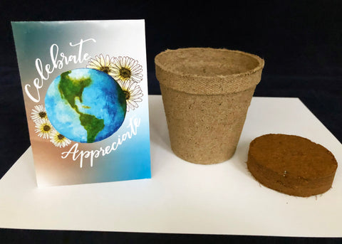 Planting seeds for Earth Day