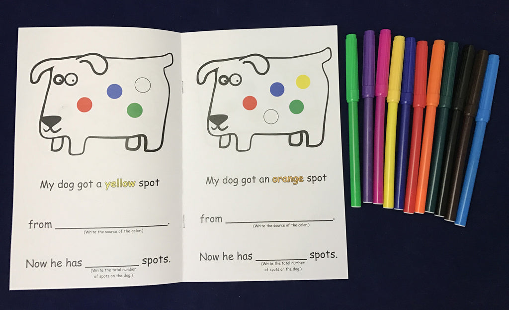 Ivy Kids Kit Activities Inspired By Dog S Colorful Day By Emma