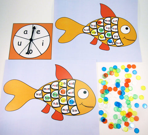 Fish Bingo: Literacy Activity inspired by A Fish Out of Water by Helen Palmer