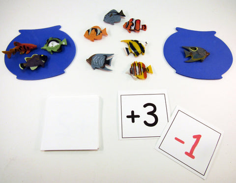 Fish Out of Water: Math Game inspired by A Fish Out of Water by Helen Palmer