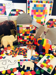 Ivy Kids kit - Elmer