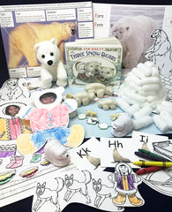 Activities inspired by The Three Snow Bears by Jan Brett
