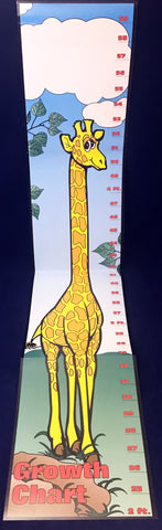 How tall am I? Giraffe Height Chart