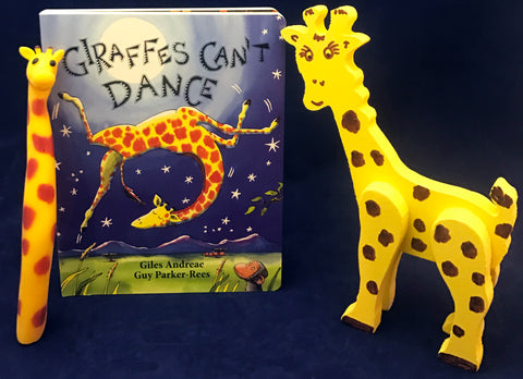 Activities inspired by Giraffe's Can't Dance
