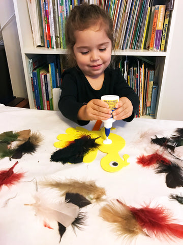 Make a turkey puppet