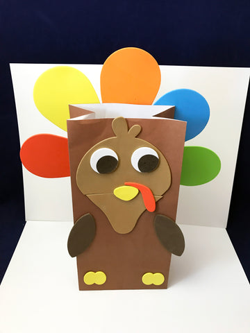 turkey paper bag puppet