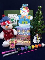 Ivy Kids Holiday Mini-Kit featuring Snowmen at Christmas