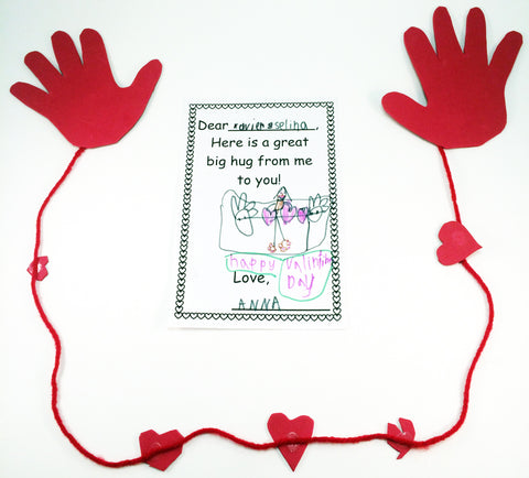 A hug activity - Ivy-Kids.com