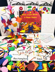 STEAM Activities based by the book When a Line Bends a Shape Begins