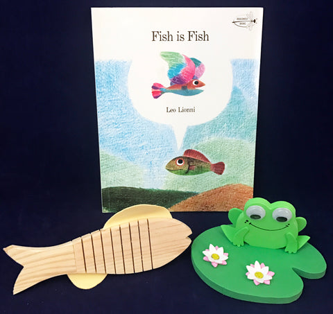 Activities inspired by Leo Lionni's book Fish is Fish