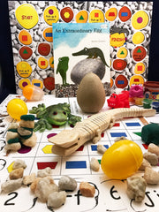 STEAM activities inspired by the book An Extraordinary Egg by Leo Lionni