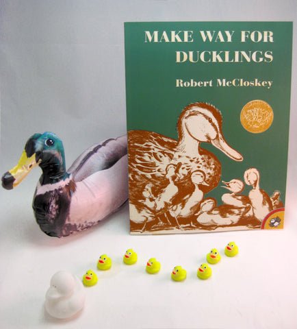 Make Way for Ducklings by Robert McCloskey - Math, Literacy and Science Activity Box