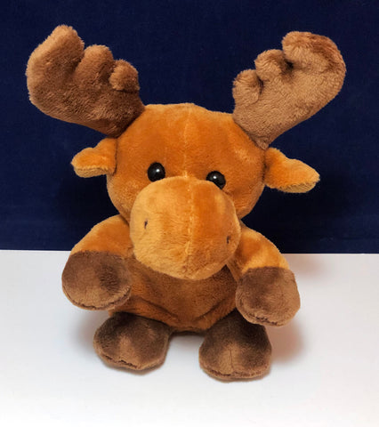 Plush moose doll