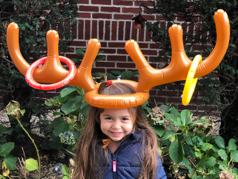 Moose Antler ring toss game