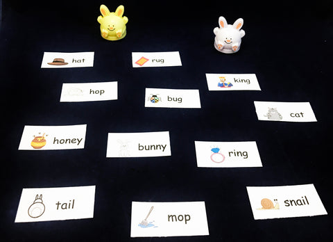 Rabbit Rhyming Game