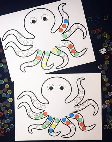 Ivy Kids kit - Octopus Escapes Again!