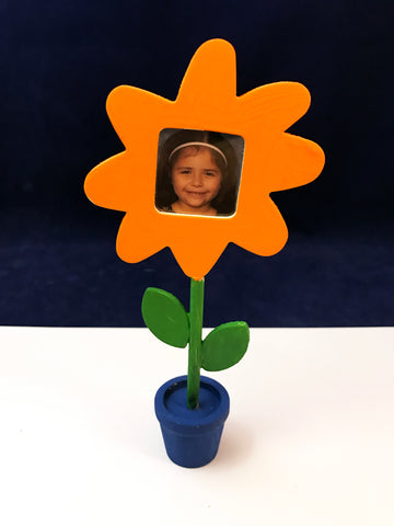 Wooden flower frame