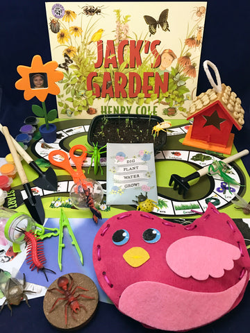 activities inspired by the book Jack's Garden. Springtime and planting activities for children