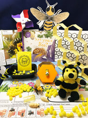 STEAM activities inspired by the children's book Are you a bee?